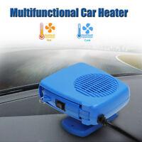 DC 12V Portable Car Ceramic Heating Cooling Heater Fan Defroster Demister