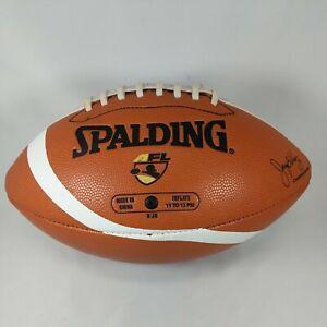 Philadelphia Soul AFL Arena Football League Spalding White Panel Full Size
