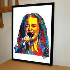 Fiona Apple Singer Piano Pop Art Music Poster Print Wall Art 18x24