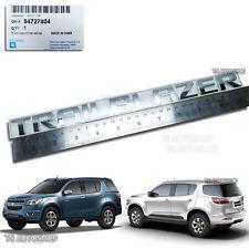 Chrome Rear Back Emblem Decal for Chevrolet Trailblazer SUV 4dr LT LTZ Duramax