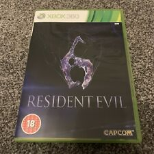Microsoft Xbox 360 - Resident Evil 6 - Complete with Manual