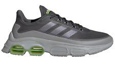 adidas Core Herren Freizeit-Sport-Fitness-Schuhe Sneaker QUADCUBE grau