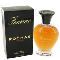 Rochas Femme Rochas By Rochas Eau De Toilette Spray 3.4 Oz