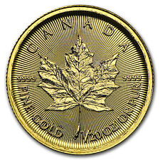 2016 Canada 1/20 oz Gold Maple Leaf BU - SKU #93751