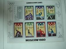 Aus Abo - Olympische Spiele 1980 1 Luxus Block KLB xx KOREA Pferde Reiten Dresur