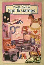Plastic Canvas Fun & Games - Annie's Attic #87P19 - 12 Projects