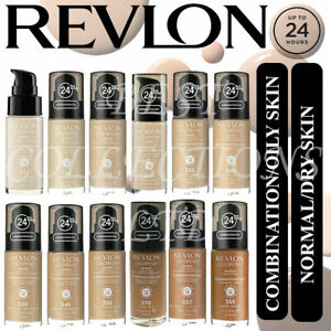 Revlon Colorstay Foundation 24HRs Combination/Oily or Normal/Dry skin - 30ml