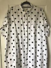 Women's Monki ASOS Shirt Dress, Black Polka Dot, Size L