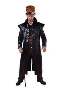 Steampunk Cowboy Barock Rokoko Kostüm Mittelalter Gothic Piraten Gangster Mantel