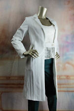 $2350 New with tags JIL SANDER White Jacket Coat 38 8