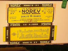 REPLIQUE SOCLE DE BOITE RENAULT R10  NOREV 1966