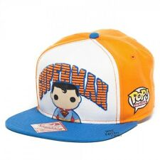 Superman Funko Pop Heroes Cute DC Comics Licensed Snapback Hat Cap