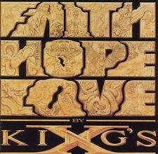 Faith Hope Love by King's X (Cassette, Oct-1990, Megaforce)