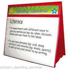DTS4 - Red Group Focus Board Ideal for Literacy & Numeracy lessons