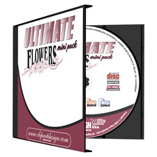 FLOWERS CLIPART-VINYL CUTTER PLOTTER IMAGES-EPS VECTOR CLIP ART GRAPHICS CD