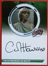 BLAKE'S 7 - CAROL HAWKINS as Kerril - Autograph Card, Unstoppable Cards
