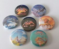 Asia button badges 25mm Only Time Will Tell Again Ride Easy Go Don't Cry My Own