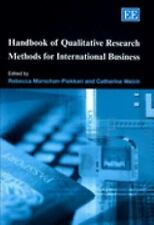 Handbook of Qualitative Research Methods for International Business, , , Very Go