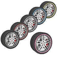 """ORANGE Alloy Wheel Rim Protector Trim 13 14 15 16 17 18 19 20 21 22 """" 16mc"""