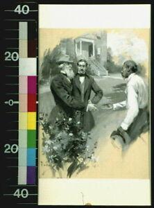 Photo:Shake Hands with Me,African American Man,c1897,A Run of Luck,Yohn 7829