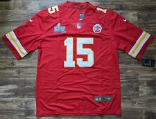 Nwt Patrick Mahomes #15 Kansas City Chiefs Super Bowl Liv Jersey Red Large