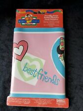 Minnie Mouse Daisy Duck Best Friends Wall Paper Border New  Sealed Disney Child