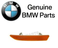 NEW BMW M3 2007-2010 Front Driver Left Reflector - Bumper Cover (Yellow) Genuine