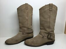 WOMENS STEVE MADDEN CASUAL LIGHT BROWN BOOTS SIZE 10