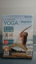 GAIAM - ULTIMATE YOGA FOR BEGINNERS COLLECTION  2 DVD SET - NEW SEALED