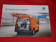 VW T6 Transporter Sortimo für den Elektriker Prospekt von 2016