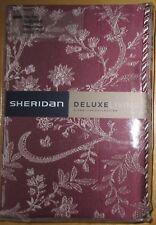 SHERIDAN DELUXE Tailored Pillowcase PAIR 50x75cm DUMAS BERRY New