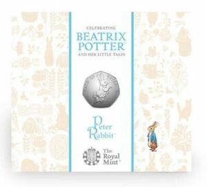 Peter Rabbit 2017 UK 50p BU Coin