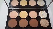 MAKEUP REVOLUTION 8 Professional Contour Powder Palette Highlighting Contouring