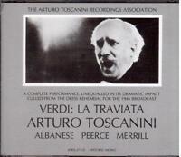Verdi: La Traviata/Toscanini, Albanés, Peerce, Merrill, NBC Symphony O CD