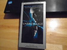 Sealed Rare Oop Unbreakable Vhs film M. Night Shyamalan Glass Bruce Willis Split