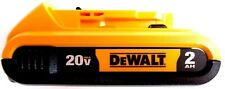 (1) New GENUINE Dewalt 20V DCB203 2.0 AH MAX Battery 20 Volt For Drill, Saw