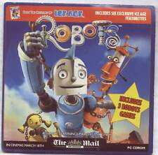 ROBOTS – PROMO PC CD-ROM WITH ACTION GAMES  + TRAILER ETC (2005)
