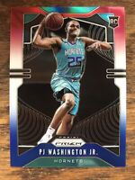 2019-20 Panini Prizm PJ WASHINGTON RED WHITE BLUE PRIZM Rookie RC #258  Hornets