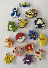 15 Stück Pokemon Schuhstecker  shoe charms, pin, charms für Clogs Neu