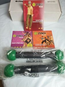 Zumba Fitness Tpning Sticks And Dvds