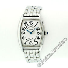 Franck Muller Cintree Curvex Stainless Steel 25mm Ladies' Wrist Watch 1752 QZ
