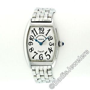 Franck Muller Cintree Curvex Stainless Steel 25mm Ladies' Wrist Watch 1752 QZ