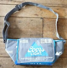 *Coors Light Promotional COOLER Bag Light Beer INSULATED 6 X 355 ml CANS