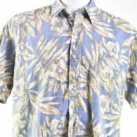 Cooke Street Reverse Print Bamboo Leaves XL Hawaiian Aloha Shirt