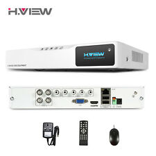 CCTV 4CH DVR H.264 AHD DVR NVR 1080P HDMI VIDEO Support Analog AHD IP Camera