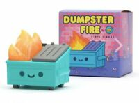 Lil Dumpster Fire Vinyl Figure Based On The Dumpster Fire Gif And Pin In Stock