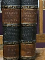 Cassell's Book of Birds 1870 Vol. 1-4 440+ Plates & Engravings 1800's Free Ship