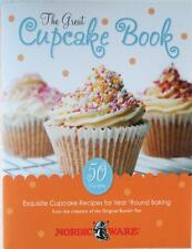 Nordicware THE GREAT CUPCAKE BOOK *50 Cakes Recipe Cookbook Frost Decorate EAT!