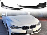Unpainted Front Splitter Spoiler Bumper For BMW F30 LCI base model 2016 - 2018