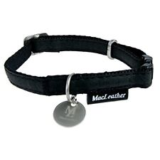 COLLIER REGLABLE MAC LEATHER 20MM NOIR  ZOLUX